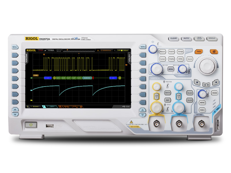 RIGOL DS2072A 70MHz Digital Oscilloscope 2 analog channels