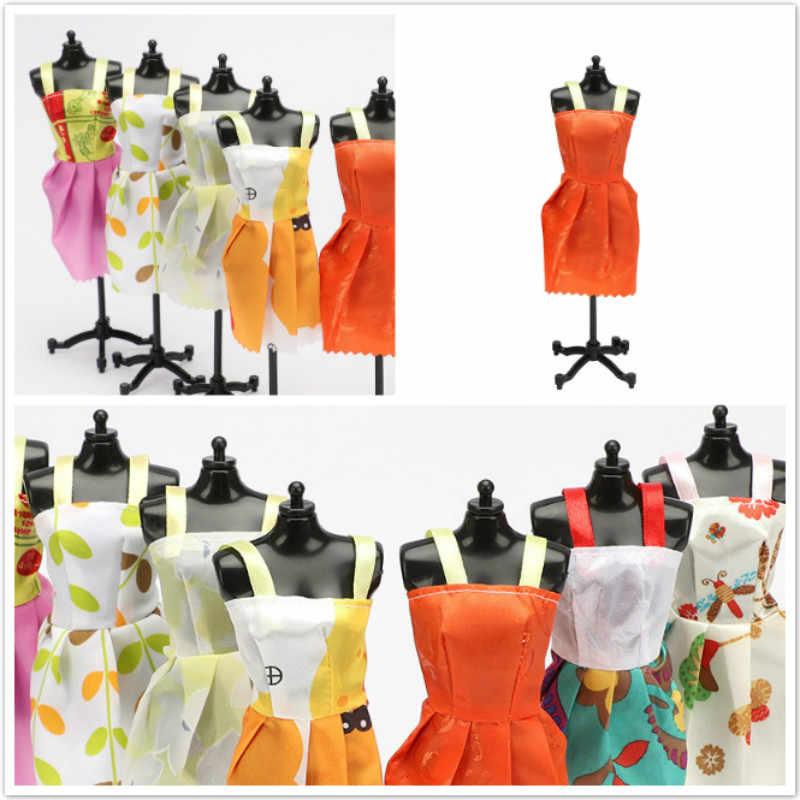 1 piezas naranja blanco accesorios de la muñeca más vestido hermoso traje hecho a mano ropa de fiesta falda Barbie Noble mejor hijo Girls'Gift