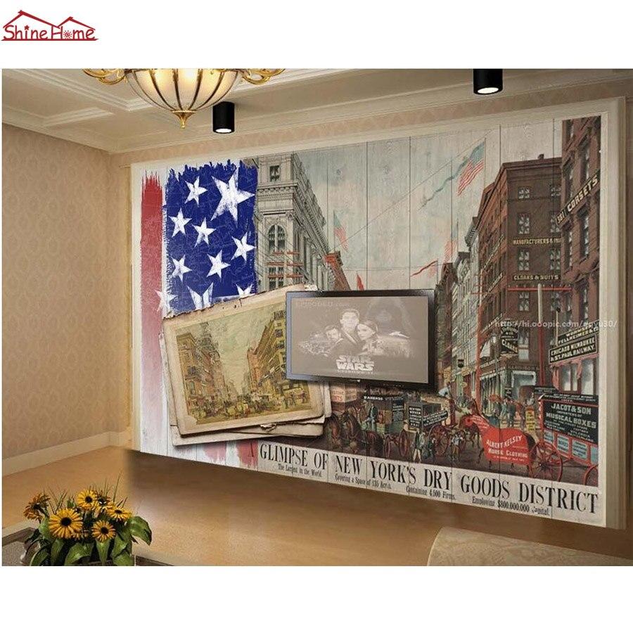 Glimpse of New York City 3d Photo Brick Wallpaper for Walls 3d Floring Mural Rolls Livingroom Household Decal Papel De Parede mortal instruments 3 city of glass
