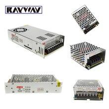 Metal LED Power switch Rigid bar light DC 12V Power supply 5A 10A 20A LED power supply for led strip light voltage transformers
