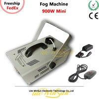 Litewinsune 900W LED Fog Machine Disco Bar Party Fogger Hazer Smoke DJ Stage Machine Wire Remote RGB