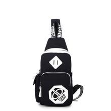 New shoulder chest bag Korean version of the Messenger bag couple casual shoulder bag sports bag