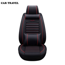 CAR TRAVEL car seat cover for vw golf 4 5 Volkswagen polo 6r 9n passat b5 b6 b7 car accessories covers for vehicle seat(China)