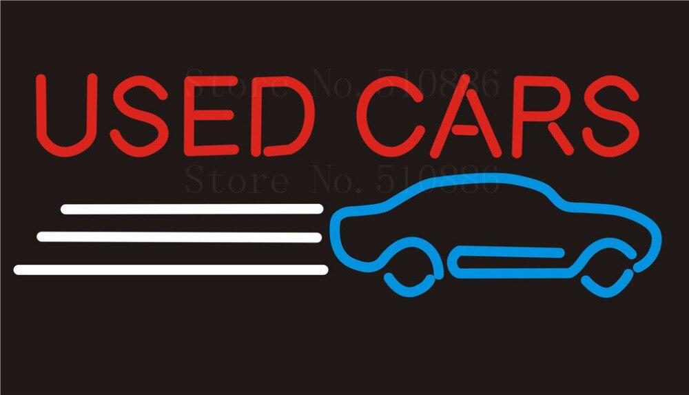 Custom NEON Sign Board Buy Used Auto Car Trade Glass Tube Beer Bar ...