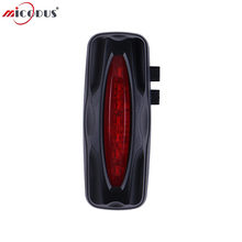 GPS Tracker Bike Taillight 2600mAh Battery WaterProof IPX7 Free Internet APP Bicycle GPS Monitoring Locator T19 Watchdog CPU Anti-theft