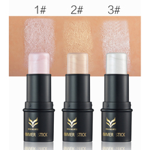 11.11 Big Sale Brand Makeup Waterproof Long Lasting Shimmer Face Contour Make Up Bronzer and Highlighter Glow Stick