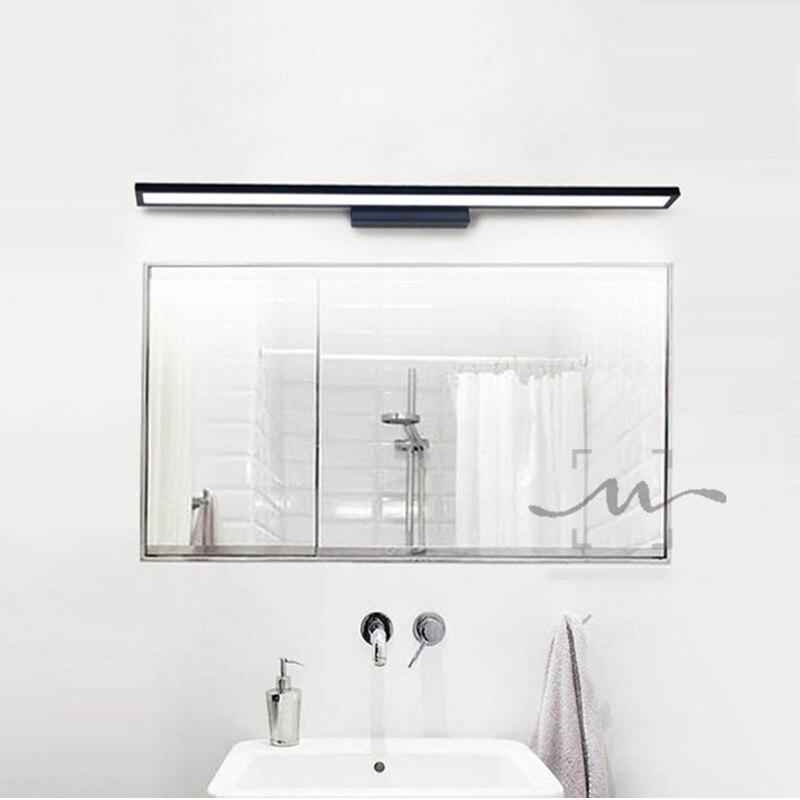 LED Modern Wall Lamps 7W 9W 18W Mirror Light Aluminum Lamp 100-220V Livingroom Bathroom Hallway Stairs Bedside Sconce Light