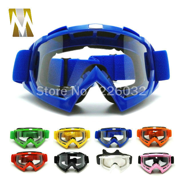 Motocross Goggles High Quality Silicone Sport Goggle Racing Protective helmet goggles Accessories&Parts