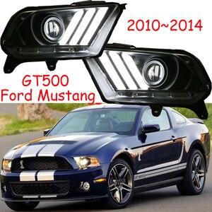 Image 5 - TaiWan gemacht! Auto stoßstange kopf lampe für 2010 ~ 2014yearFord Mustang scheinwerfer DRL auto zubehör kopf licht für Mustang front licht
