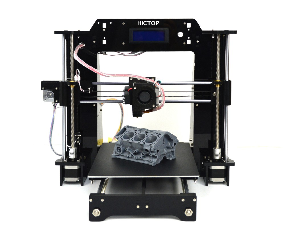 Prusa I3 DIY 3D Printer Supporting ABS PLA Filament High Printing Speed 120mm s