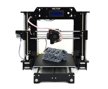 Prusa I3 DIY 3D Printer Supporting ABS / PLA Filament High Printing Speed 120mm / s