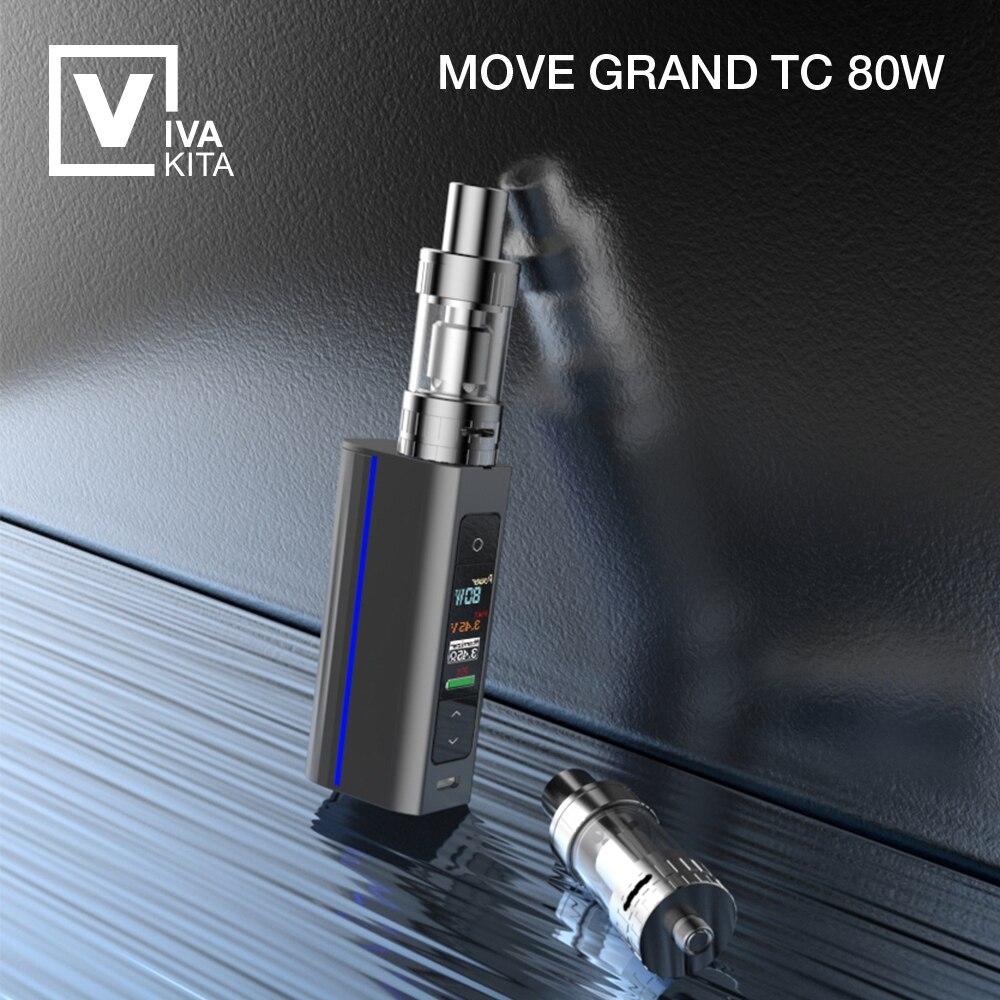 ФОТО Vivakita  Mod 80W with VT and VW Functions E Cigarette Mod  Mini temperature Control Mod 80W NO Battery
