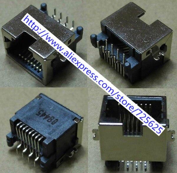 Free shipping 1pcs  RJ45 Module Network PCB Jack for Asus EPC 701SDX  laptop LAN Network Jack Connector sdx 23