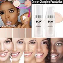 Foundation Color Changing Liquid Foundation Makeup Change Color Primer цена