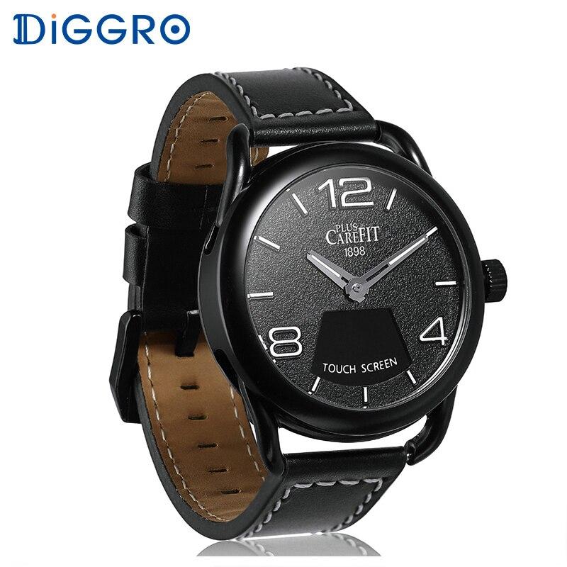 Diggro Z18 smart montres étanche chronomètre Passometer Sommeil Moniteur de fréquence Cardiaque Fitness sport Tracker hommes femmes smartwatch