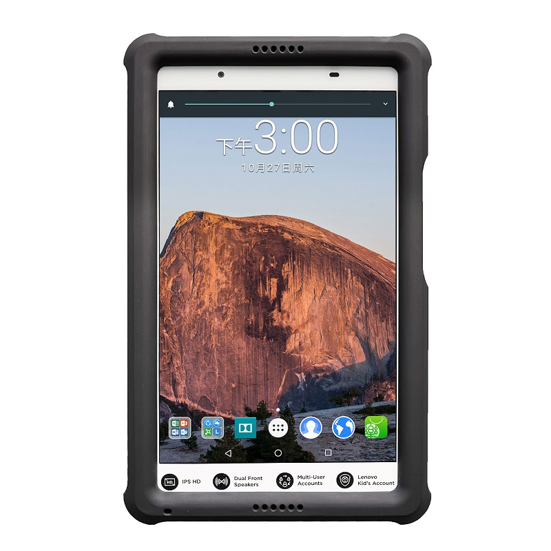 buy popular cda44 c1849 MingShore Silicone Case For Lenovo Tab 4 8 TB-8504F/N/X Rugged Kids  Shockproof Tablet Protective Cover For Lenovo Tab4 8.0 Case