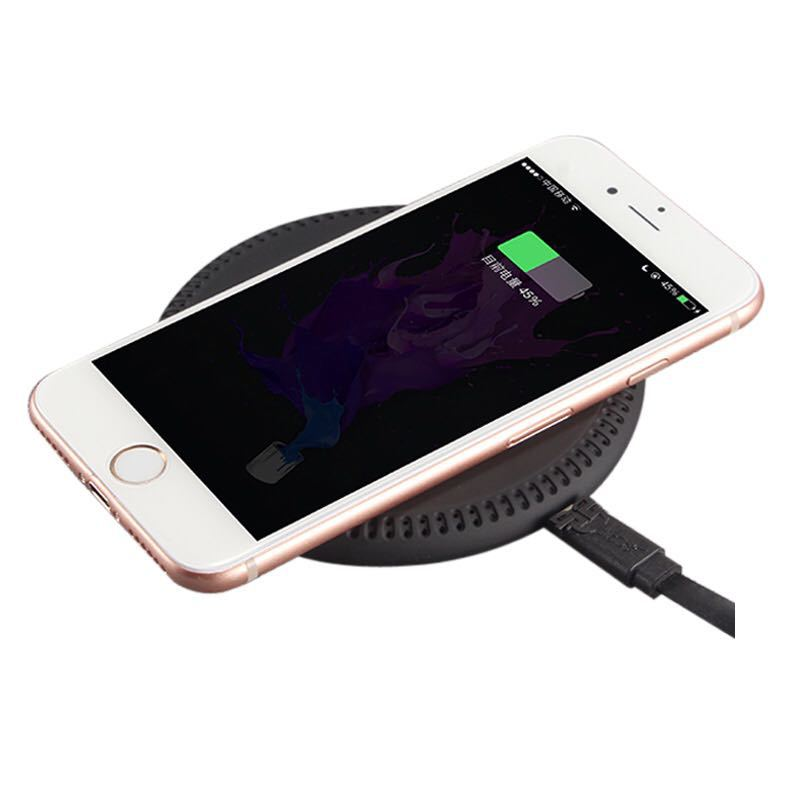 K2 metal new private mode wireless charger Foreign trade