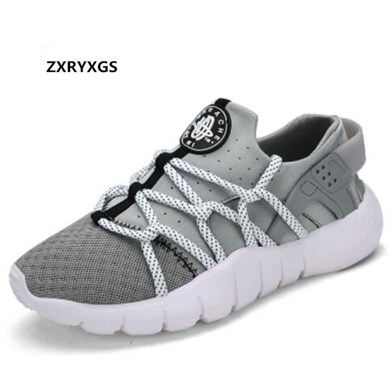 2018 new fashion spring and summer mesh shoes men sneakers Light and  comfortable Korean wild lace men shoes casual shoes-in Men s Casual Shoes  from Shoes on ... dc3b7d2e9c09