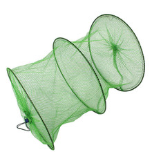 New 30*42cm Small Mesh Nylon Dip Fish Net Carp Fishing network Crayfish Trap Cheap Fishing Nets China Fising Tackle tool FO120