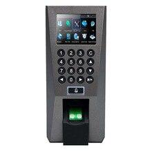 TCP/IP Отпечатков пальцев Контроля Доступа и Посещаемости Времени Система Безопасности для Двери ZK F18 Контроля Доступа Терминал