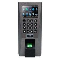 Tcp/ip Биометрические Дактилоскопические системы доступа и рабочего времени безопасности Системы для двери ZK F18 Управление доступом терминал