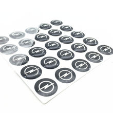 10 pièces 14mm Opel Clé bouton Autocollants En Aluminium ou En version Automatique de clé de Voiture à distance logo Clé badge bouton Autocollants style(China)