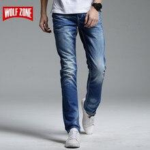 Jean en Denim pour hommes, solide, pleine longueur, vêtements de styliste, pantalon de luxe pantalon décontracté pour hommes et célèbre