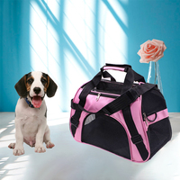 1 Pc New Folding Pet Carry Nylon Breathable Mesh Cat Carriers Outside Portable Dog Travel Bag Outdoor Small Pet Carrying Handbag