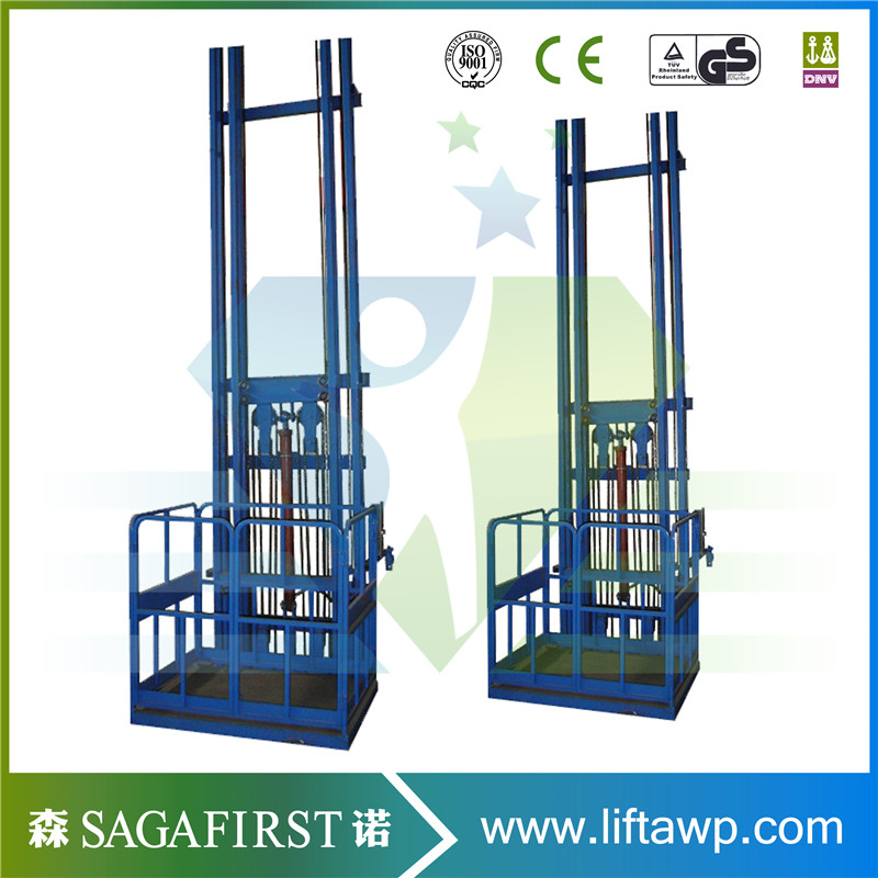 2000kg Warehouse Used Hydraulic Vertical Cargo Lift