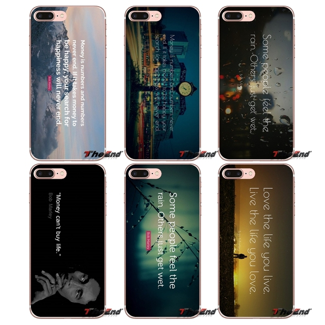 Bob Marley Quotes On Life Love Money Case For Huawei G7 G8 Ascend P7