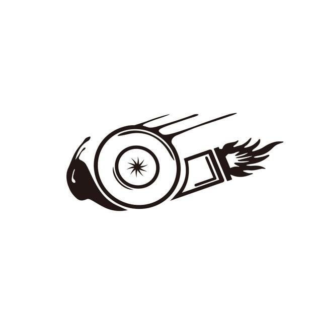 Decalque Etiqueta do carro Turbo Boost Caracol Vinil Reflexivo 2 Cores Auto Tuning Car Styling Acessórios