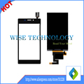 4.8 polegada preto cor branca para sony xperia m2 s50h m2 aqua m2 aqua d2403 display lcd + touch screen digitador assembléia 1 PC