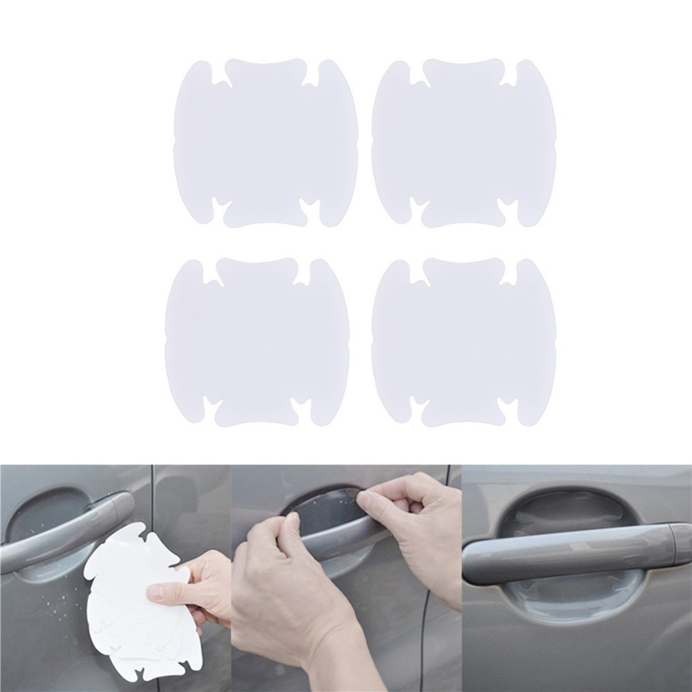 4pcs car exterior accessories Car handle protection automotive film Door Open for XRay LADA Priora Niva Kalina XRAY Vesta Samara