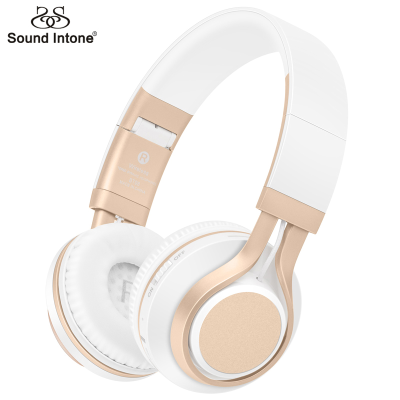 Sound Intone BT-08 Bass Wireless Headphones Bluetooth With Mic Support TF Card FM Gaming Headset For Computer Mobile Phone MP3 bluetooth headphones wireless stereo headset fone de ouvido headfone with mic support tf card fm radio for mobile phone pc