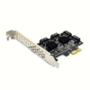 Image 2 - 4 port SATA 3.0 to PCIe expansion Card PCI express PCI e SATA Adapter PCI e SATA 3 Converter with Heat Sink for PC IPFS SSD HDD