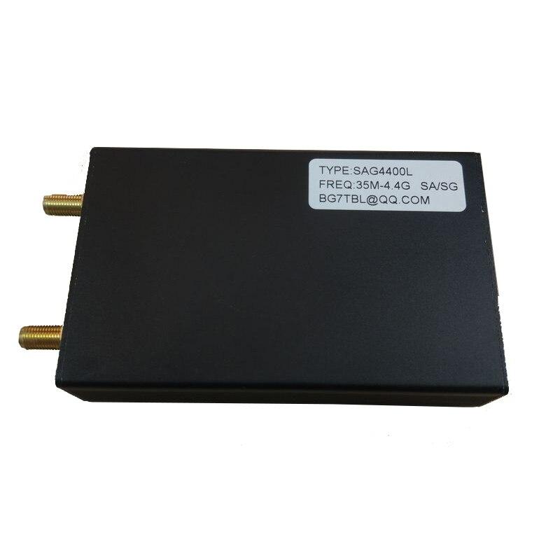 35 M-4.4G 1 K USB SMA Sorgente Del Segnale Generatore di Semplice Analizzatore di Spettro SAG4400L35 M-4.4G 1 K USB SMA Sorgente Del Segnale Generatore di Semplice Analizzatore di Spettro SAG4400L