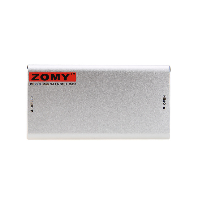ZOMY Adaptador de Alta Calidad USB 3.0 a NGFF M.2 SSD Cubierta de la Caja delgada Externa para PCI Express tarjeta M.2 SSD 22*30/22*42mm