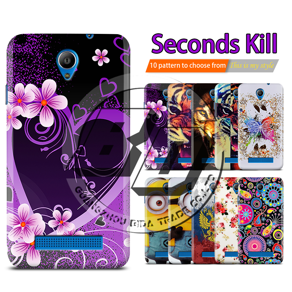 Tiger Minions Printing Cell Phone Case Cover For Fly IQ4415 Quad Era Style 3 Silicon TPU Soft Gel Back Cover Cases For IQ 4415