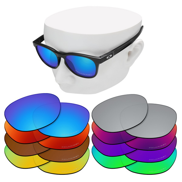 OOWLIT Anti-Scratch Replacement Lenses For-Oakley Stringer OO9315 Etched Polarized Sunglasses
