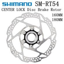 Shimano Deore Sm Rt54 Rt30 Brake Disc Center Lock Disc Rotor Mountain Bikes Disc M615 Rt54 M6000 Brake Disc 160mm 180mm Mtb запчасть alhonga hj ds15 disc deore m555 c900