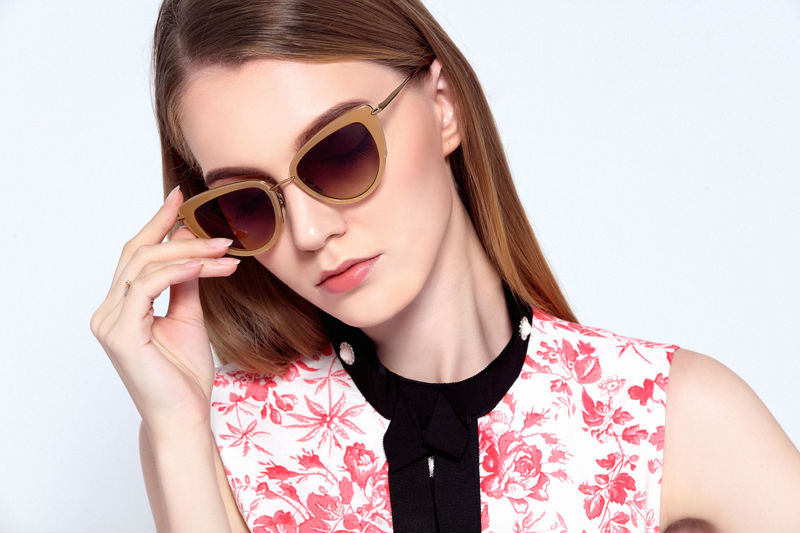 df61c6fad2ef Luxury Famous Brand Sunglasses Women Sexy Cat Eye Sunglasses EE 2016 Top  Quality Sunglasses with Box-in Sunglasses from Apparel Accessories on ...