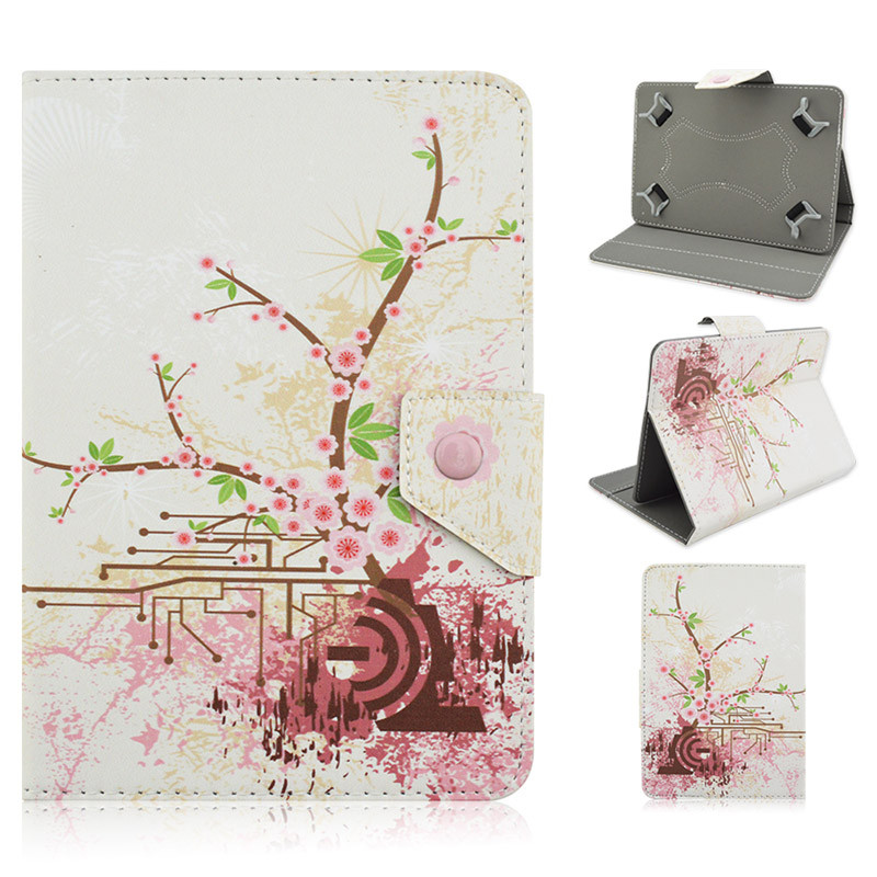 Universal Tablet cases 7.0 inch PU Leather case cover for Polaroid L7 7 inch Android Tablet PC PAD S4A92D