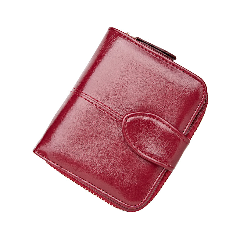 Hot Sale Wallet Women Purse PU leather Female Wallet Brand Zipper Hasp Coin Purse High Quality Fashion Lady Clutch Card Holder