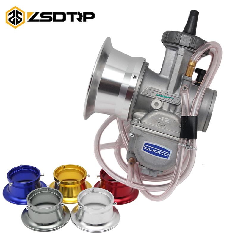 ZSDTRP Motorcycle 63mm For KEIHIN PWK 34 36 38 40 42mm Moto Modified Carburetor Air Filter Cup The wind Cup Color Horn Cup modified motorcycle accessories refires horn trolley belt oil pump cnc general horn refires