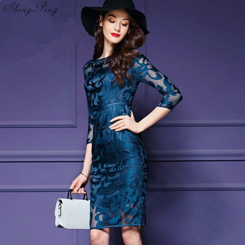 Femmes robes d'été robes de bureau pour femmes 2018 femmes affaires vêtements de sport femmes robe de soirée élégante grande taille xxxl V684