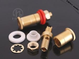 Image 3 - Hifi rame presa speaker audio spina altoparlante amplificatore terminal binding post spina a banana presa di connettore