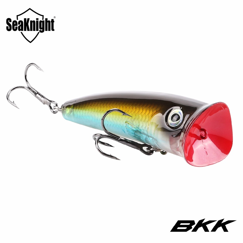 Seaknight sk004 topwater popper fishing lure 1pc 70mm 11g for Popper fishing lure