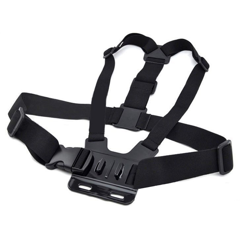 Sport Action Camera Chest Belt Strap Holder Strap per GoPro Go Pro HD hero 1 2 3 3+ 4 SJ4000 Xiaomi Yi 4K H9 DV Cam Belt da sci