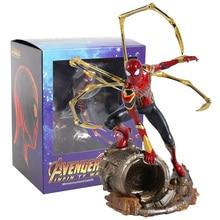 Железный студийный Железный Паук паук 1/10 Масштаб ПВХ фигурка Коллекционная модель игрушки
