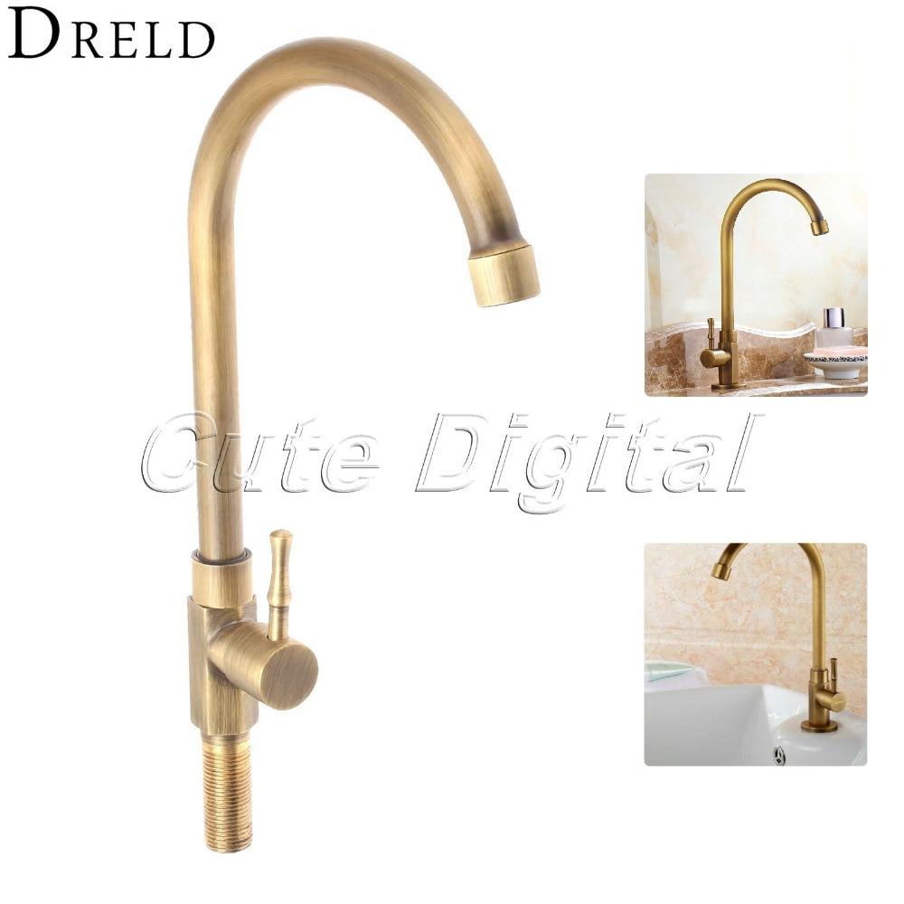 Antique Brass Luxury Bathroom Sink